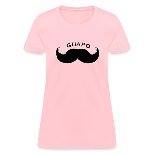 guapo stache - Women's T-Shirt