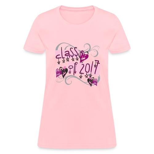 PINK Class of 2017 Stars - Women's T-Shirt