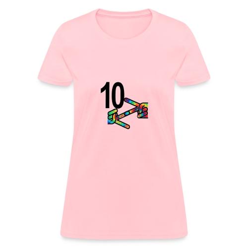 10z Tie Die - Women's T-Shirt