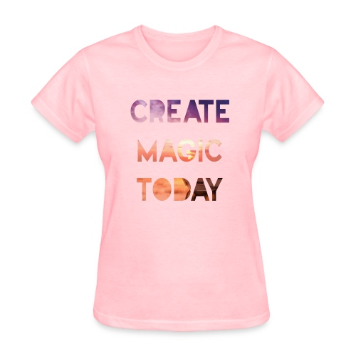 Create Magic Today - Sunset - Women's T-Shirt