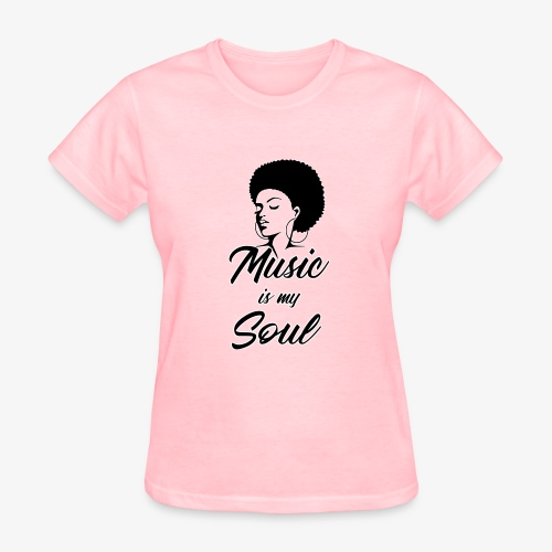 Music Is My Soul - Women's T-Shirt