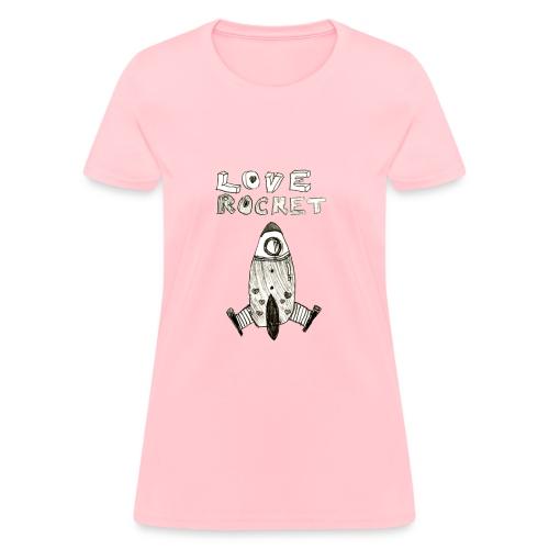 Love Rocket - Women's T-Shirt