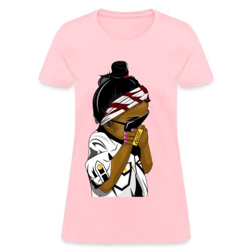 GIRL cartoon t-shirt - Women's T-Shirt