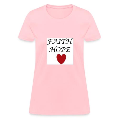 faithopelove4x4 - Women's T-Shirt