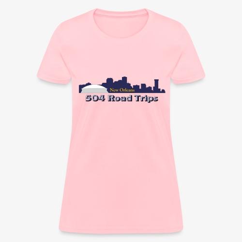 New Orleans Skyline Logo - Women's T-Shirt
