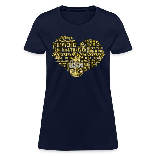 US Navy Chief Wife - Women's T-Shirt