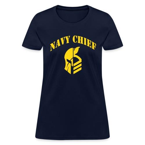 US Navy Chief CPO Warrior - Women's T-Shirt