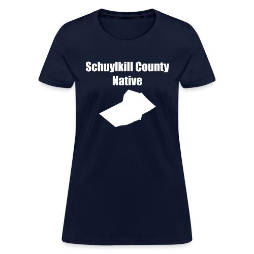 schuylkillcountynative png - Women's T-Shirt