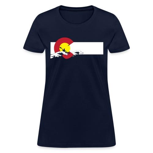 Boulder flood relief shirts 02 png - Women's T-Shirt