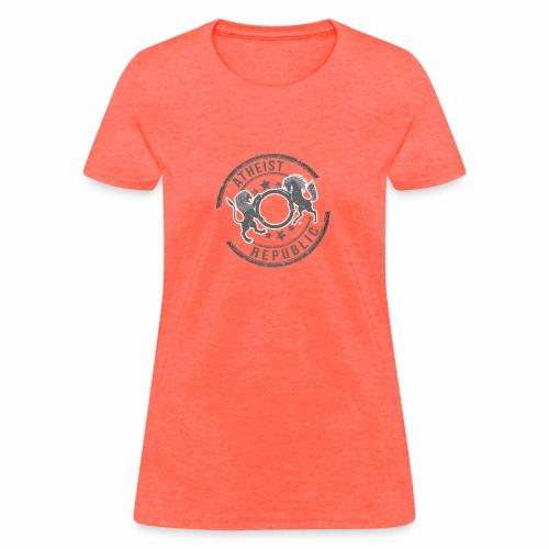 Atheist Republic Logo - Starred Stamp - Women's T-Shirt