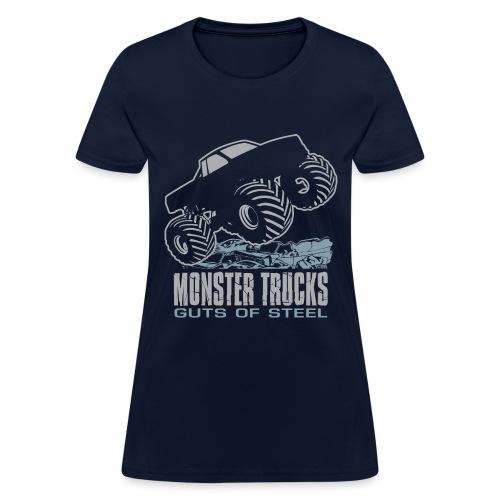 Monster Truck Guts - Women's T-Shirt