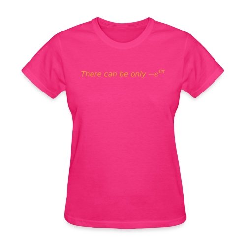 there can be gold - Women's T-Shirt
