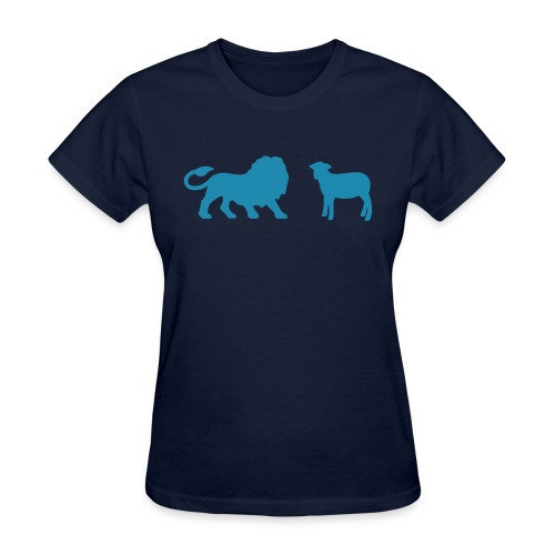 Lion and the Lamb - Women's T-Shirt