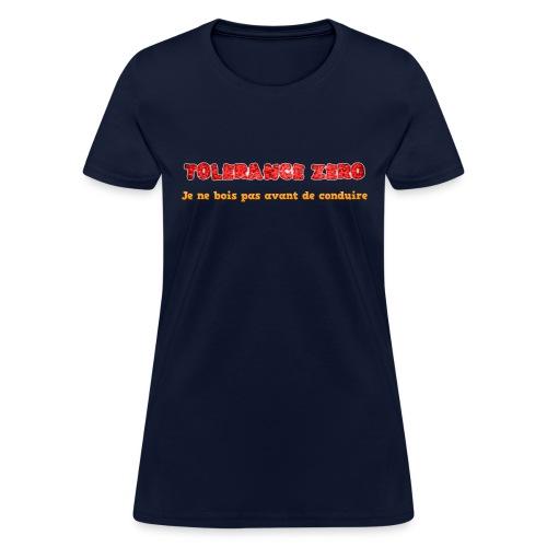 Zero alcool - Women's T-Shirt
