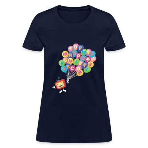Balloons ABCkidTV - Women's T-Shirt
