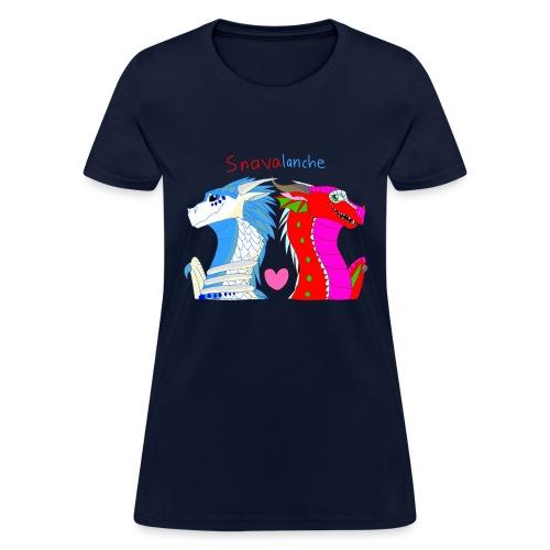 Snavalanche Updated - Women's T-Shirt