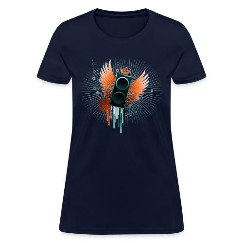 Flying Speaker - Women's T-Shirt