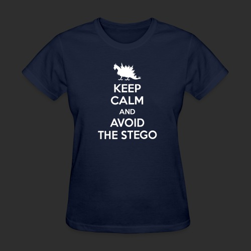 Keep Calm white - Women's T-Shirt
