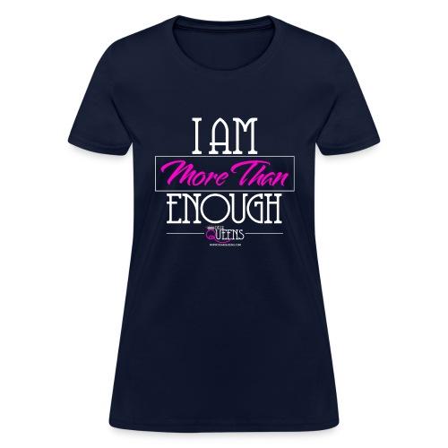 morethan white png - Women's T-Shirt