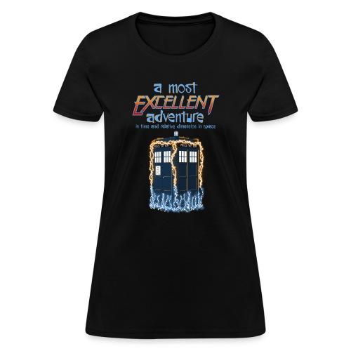 Most Excellent Adventure - Women's T-Shirt