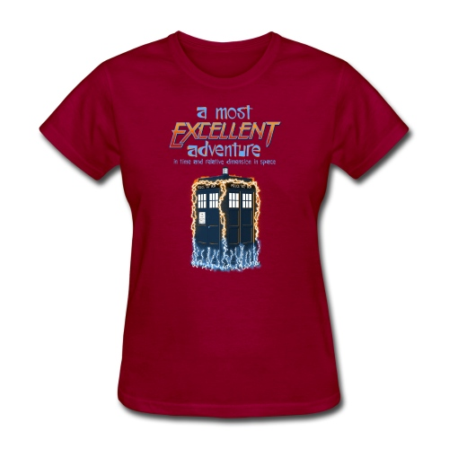 Most Excellent Adventure - Women's T-Shirt