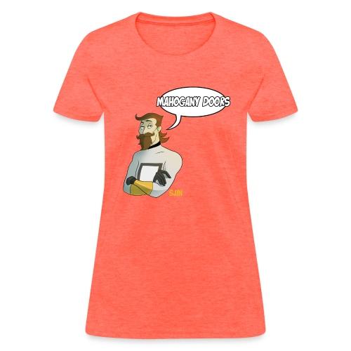 MahoganyDoors Sjin 400dpi png - Women's T-Shirt