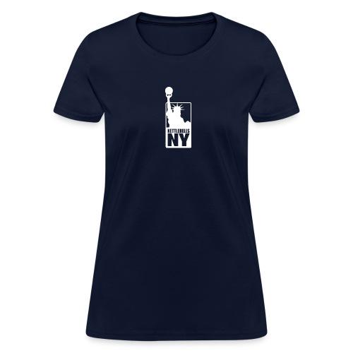 Kettlebells NY women's tee shirt - Women's T-Shirt