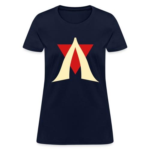 V Logo Jimmy Casket - Women's T-Shirt