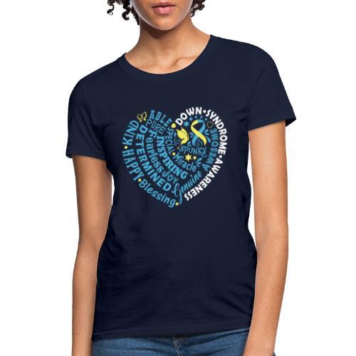 Heart Wordle - Women's T-Shirt