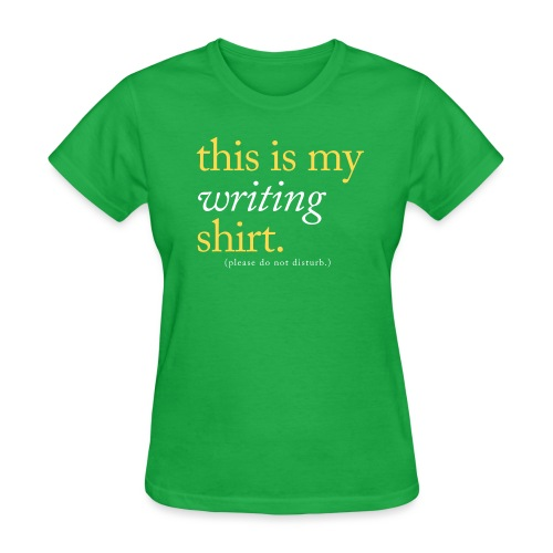 This is My Writing Shirt - Women's T-Shirt