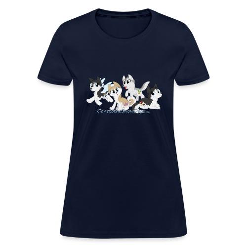 MY LITTLE HUSKYS - Women's T-Shirt