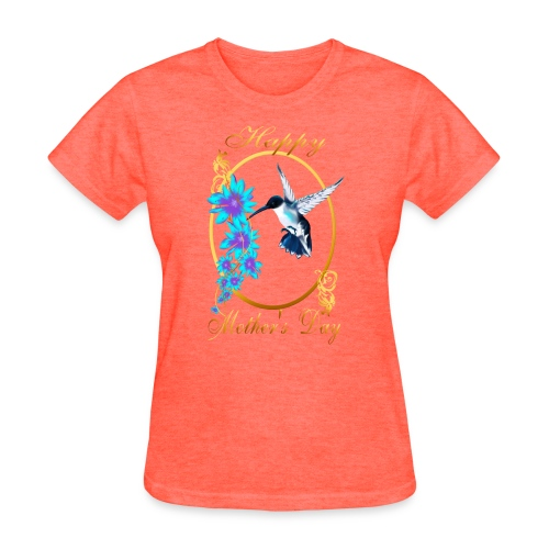 Mother's Day with humming birds - Women's T-Shirt