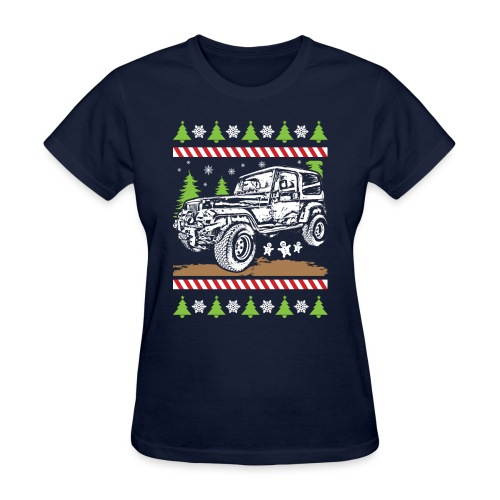 Ugly Christmas Jeeper - Women's T-Shirt