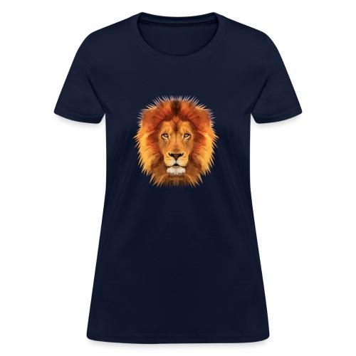 lion painting - Women's T-Shirt