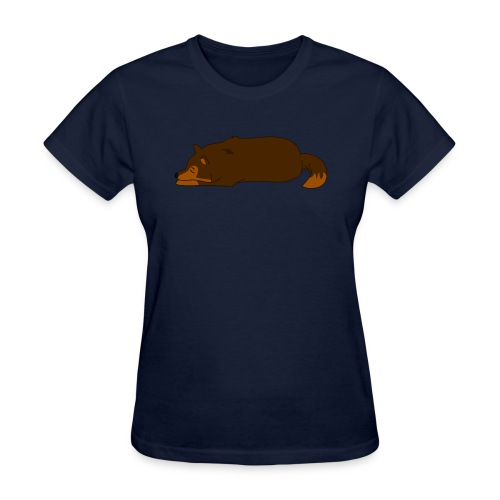 Sleeping Wolf - Women's T-Shirt