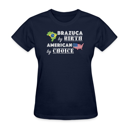 Brazuca and American - Women's T-Shirt