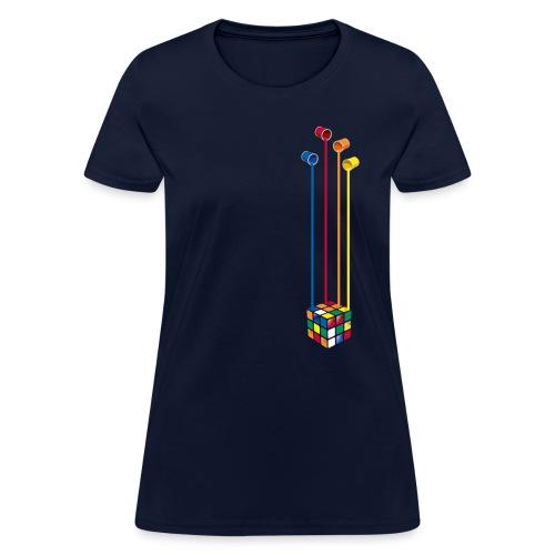 Paint Cube - Women's T-Shirt