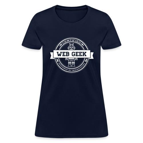 webgeek robot rev - Women's T-Shirt