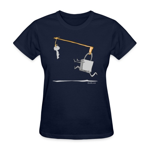 lock - Women's T-Shirt