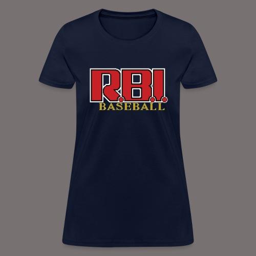 R B I Baseball - Women's T-Shirt