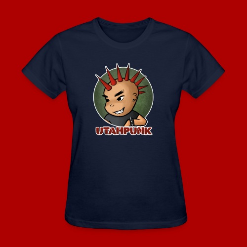 Utahpunk Logo Outline - Women's T-Shirt