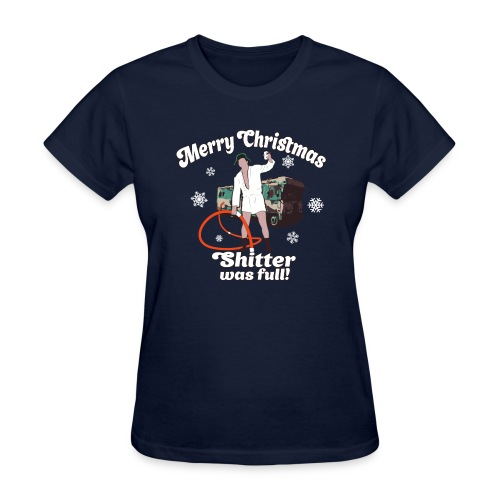 Cousin Eddie Shitter Was Full - Women's T-Shirt