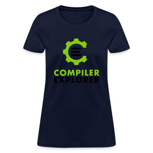 Logo and text - Women's T-Shirt