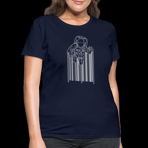 Scan Space - Women's T-Shirt