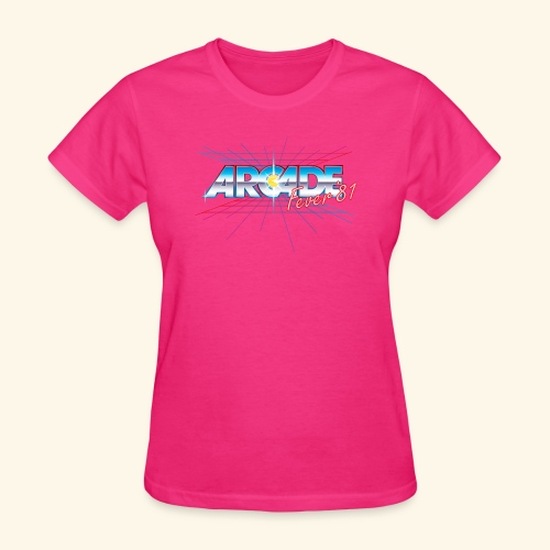arcade fever 81 motiv2 - Women's T-Shirt