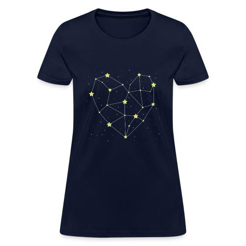 Heart in the Stars - Women's T-Shirt