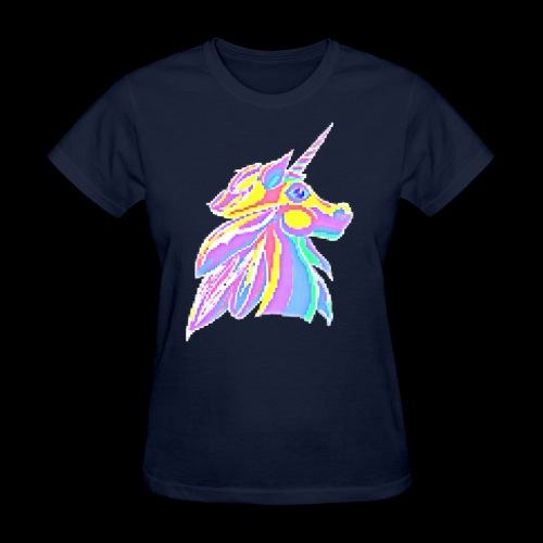 Pixellent Unicorn - Women's T-Shirt
