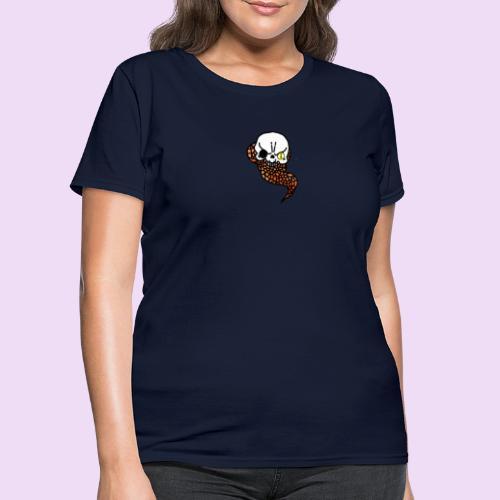 Skull & Snake - Women's T-Shirt