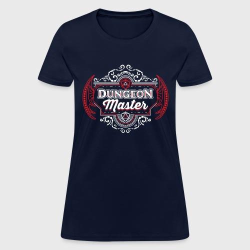 dungeon master filigree fantasy gift d20 shirt - Women's T-Shirt