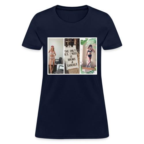 bikini girls - Women's T-Shirt